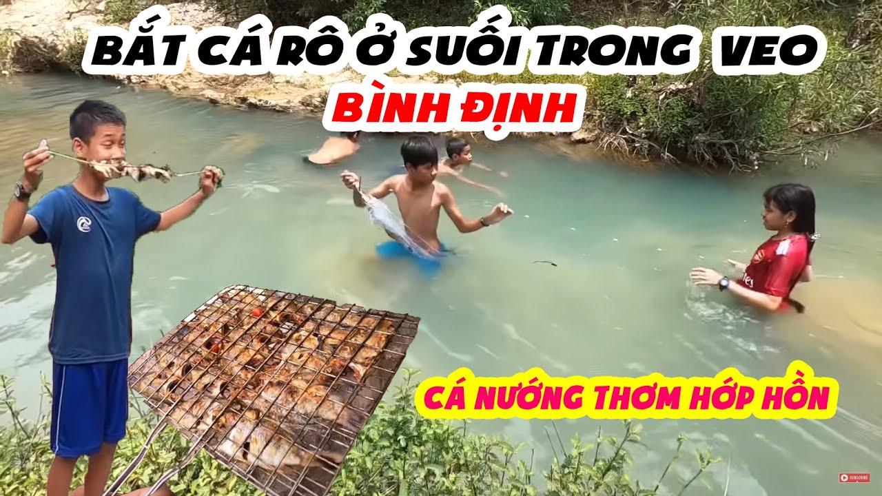 Tiểu Đội Săn Cá Rô Được Hơn 30 Con | 🐠 Suối Bình Định 🐠 | Ytiet Official