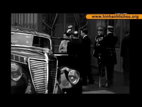 Phim tài liệu: Vua Bảo Đại công du sang Pháp năm 1939