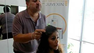 The Global Keratin Hair Taming System with Juvexin at Sally Hershberger Los Angeles