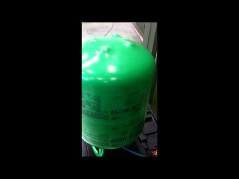 Retrofit Trocando Gás R22 Por Gás ecologico Dupon Isceon MO59 ar condicionado split K7