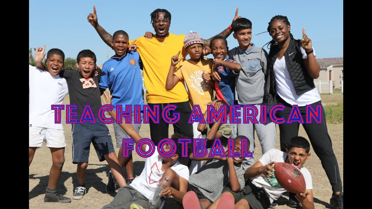 GoodwinSZN Travel: Teaching American Football To South African Kids