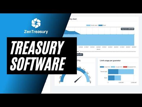 ZenTreasury - Quick demo tutorial Treasury Software
