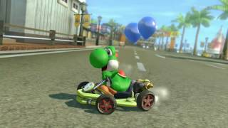 Wii U - Mario Kart 8 - Puerto Toad