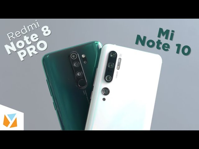 Mi Note 10 Xiaomi Cc9 Pro Vs Redmi Note 8 Pro Comparison Review