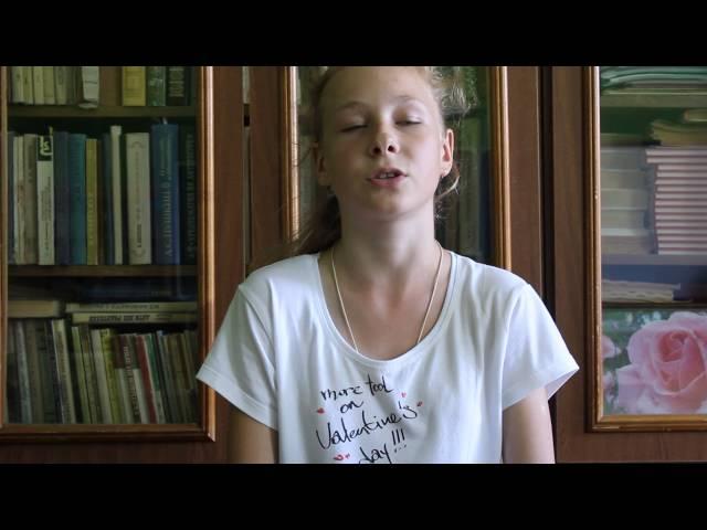 Изображение предпросмотра прочтения – ВикторияМаянцева читает произведение «Черёмуха» С.А.Есенина