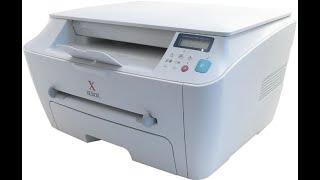 Установка драйвера принтера и сканера Xerox WorkCentre PE114E на Windows 10 X64