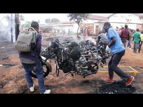 La Tanzanie endeuillée après l'explosion d'un camion-citerne
