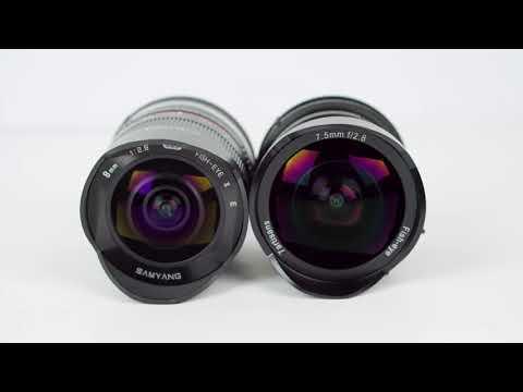 7.5mm F/2.8 Ultra-Wide Angle + Fisheye For $139! (7Artisans)