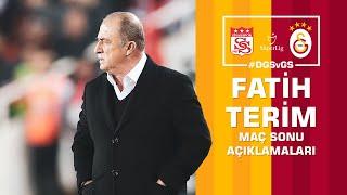 🎙 Teknik direktörümüz Fatih Terim'in maç sonu açıklamaları #DGSvGS Sivasspor Galatasaray 2-2