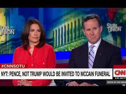 Jake Tapper Says John McCain Not Wanting Donald Trump At Funeral Is 'A Real Moment For The Country'