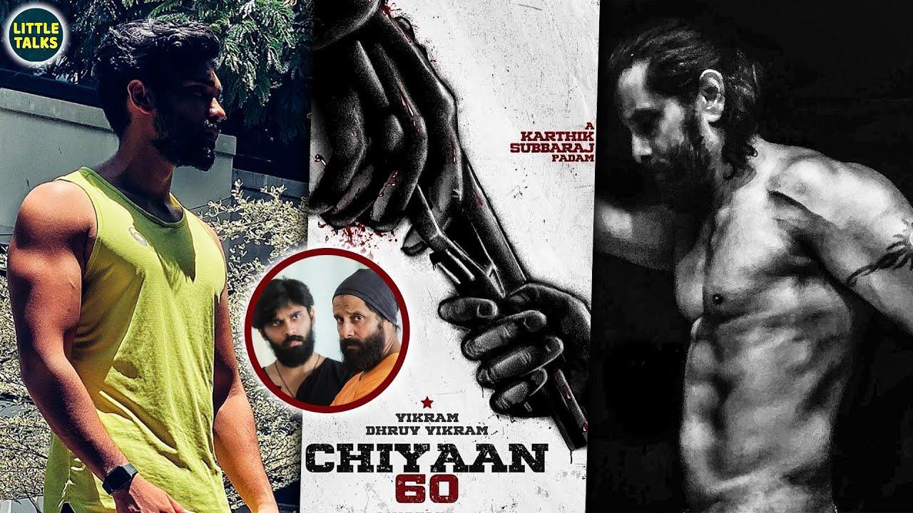 Vikram VS Dhruv Vikram   Dad & Son's Beast Mode   Lockdown Transformation   Chiyaan 60