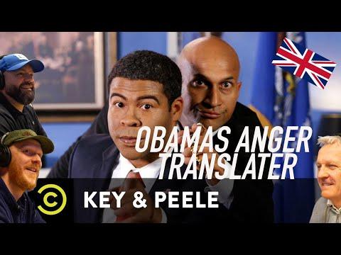 Key & Peele - Obama's Anger Translator REACTION!!   OFFICE BLOKES REACT!!