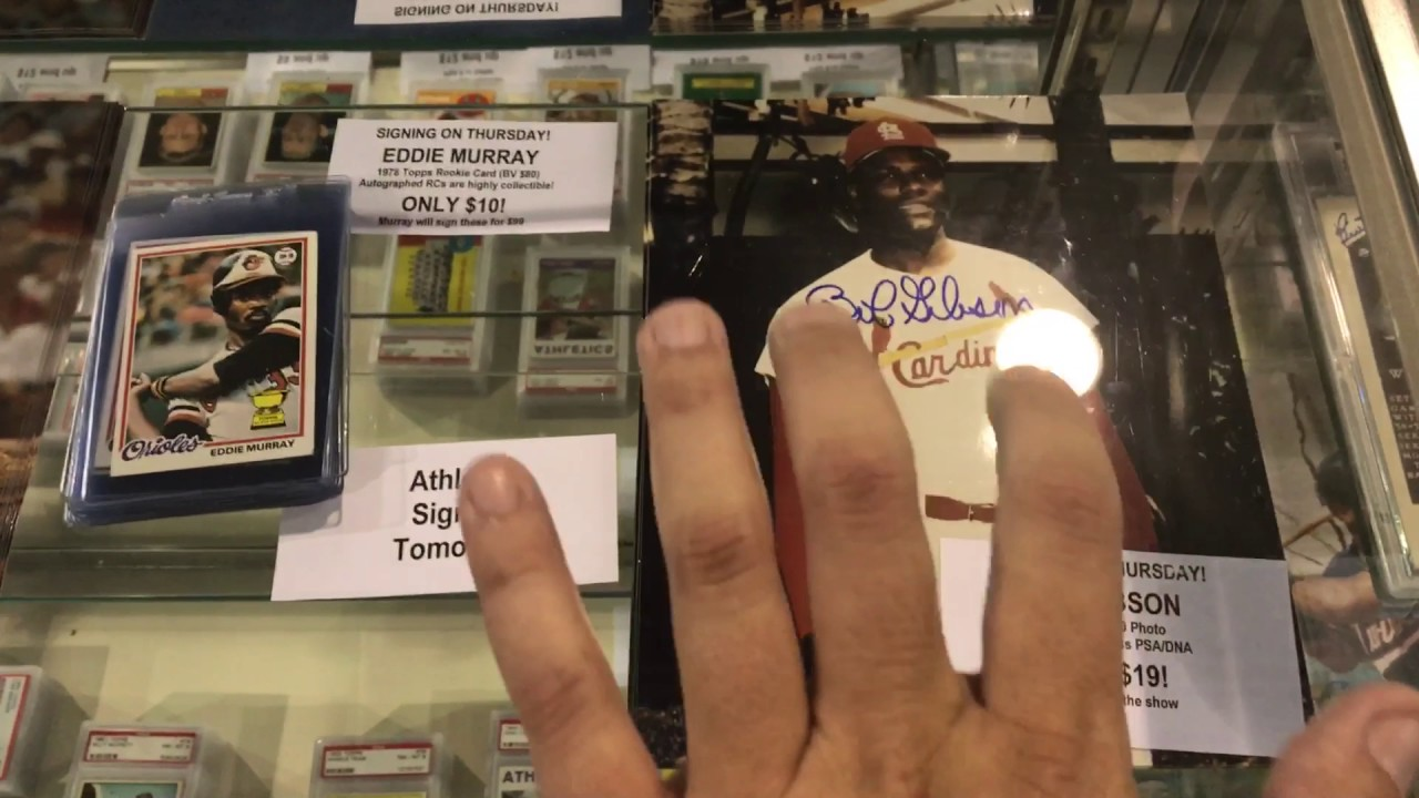 Baseball Card Exchange 2017 National Sports Collectors Convention