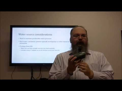 Drip Irrigation for your Home Garden