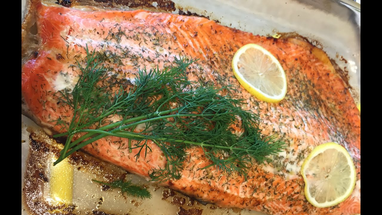 как приготовить стейк из лосося лазерсон