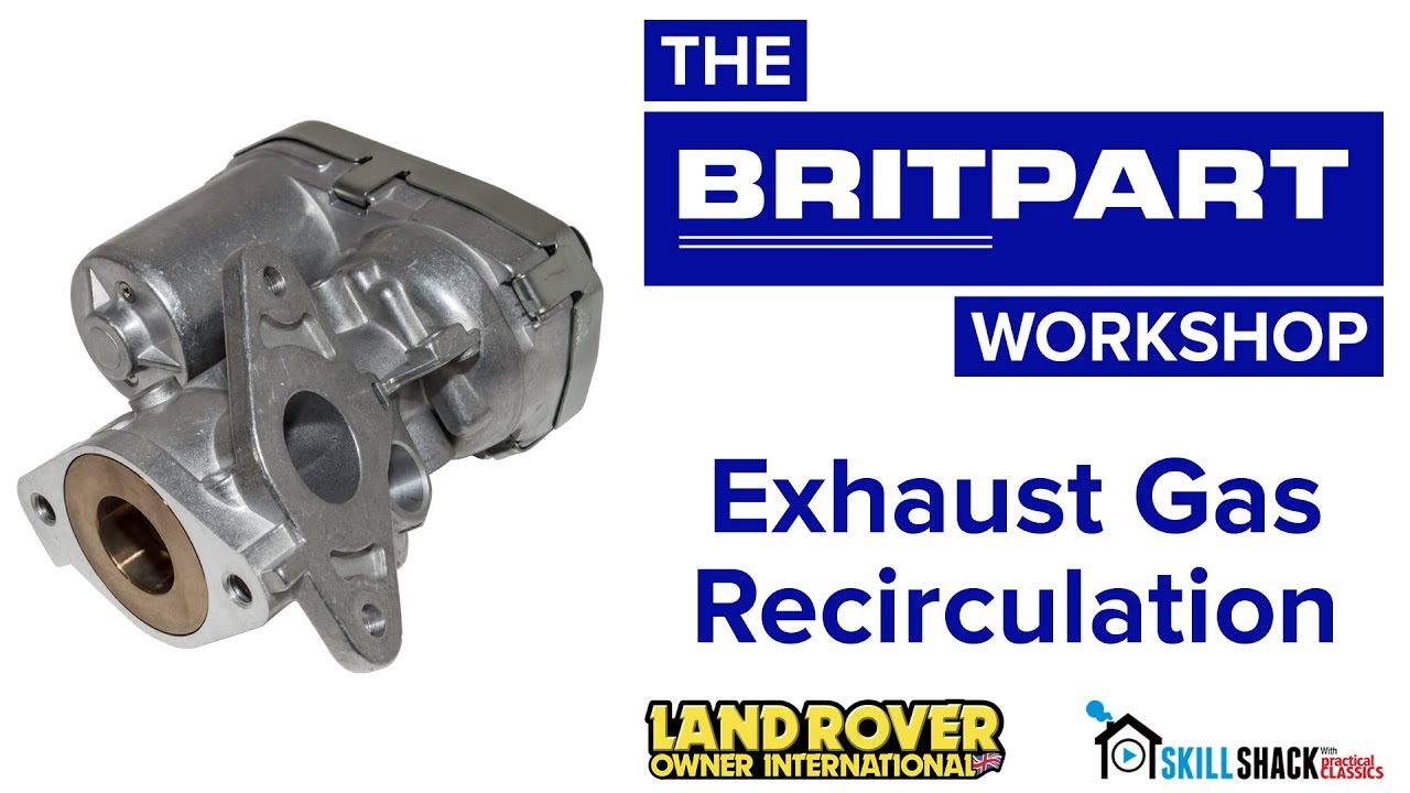 Tips on replacing the exhaust gas recirculation (EGR) valve on a 2 4TDCi  Defender