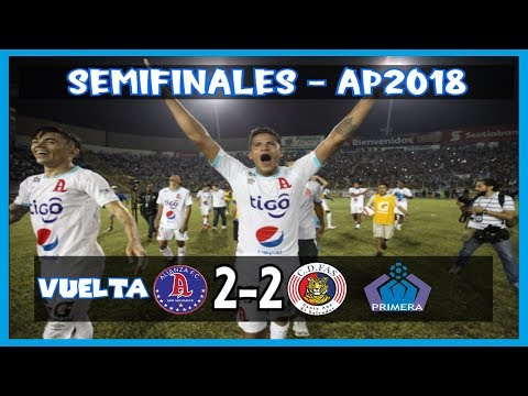 Alianza FC [2] vs. CD FAS [2] FULL GAME: 12.8.2018: ES Apertura 2018 [Semifinales/Vuelta]