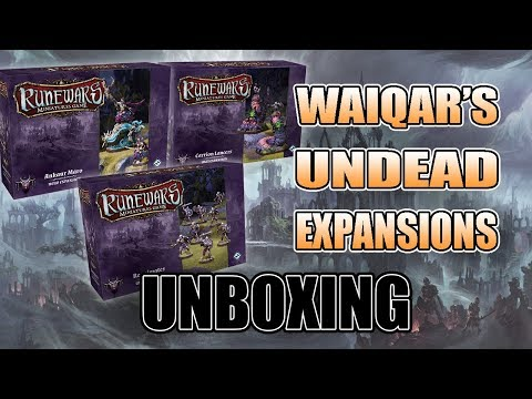 $25 & $35 Undead Waiqar Expansions For Runewars
