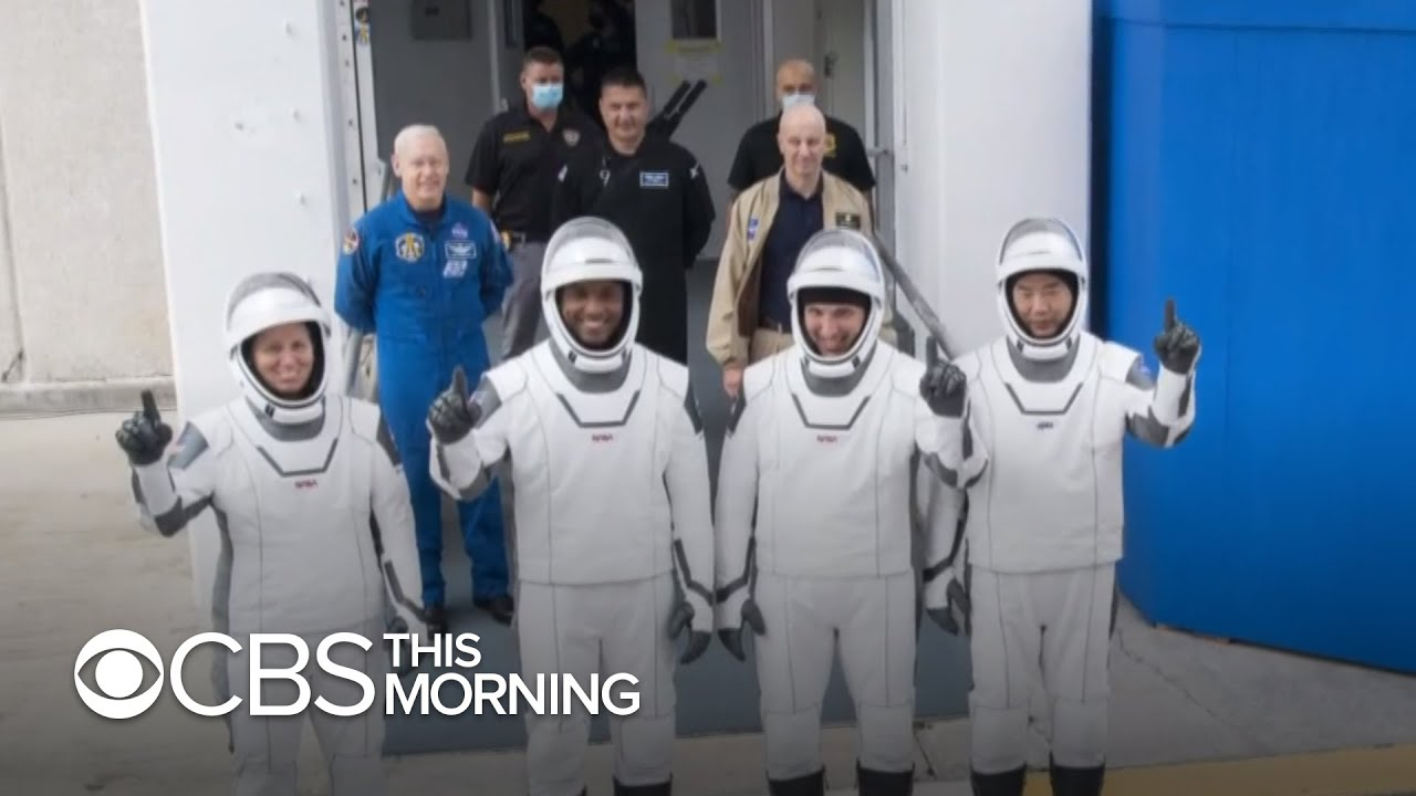 Watch SpaceX launch 4 astronauts to the ISS Saturday