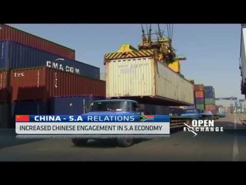 Impact of increased Chinese engagement in S.African economy