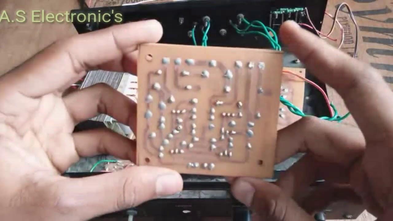 2n3773 2n3055 Transistor Amplifier Circuit Diy 50watts In 50w Audio Part1