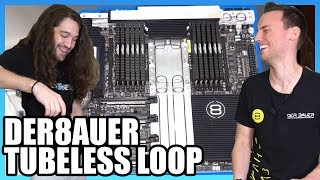 Der8auer's First True Monoblock: Water Cooling Without Tubes | LINC
