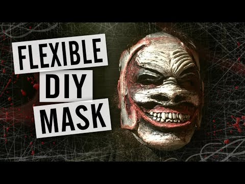 How to Make a Rubber Mask - Bray Wyatt The Fiend