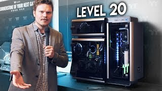 The $999 Thermaltake LEVEL 20 Case