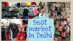 Popular & Best market in Delhi for Girl clothes - Avantika Market Rohini Delhi