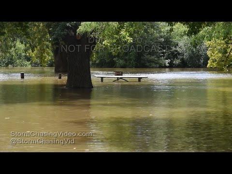 Murphysboro, IL Big Muddy Moderate Flooding - 8/19/2016