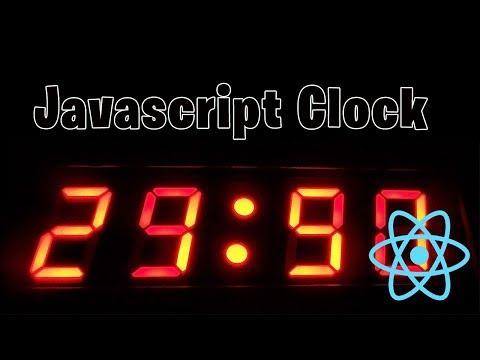 Javascript Digital Clock // React thumbnail