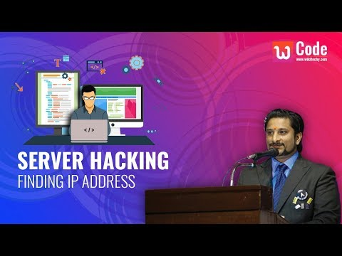 Server Hacking Project - Finding IP Address Module - Free Final Year Project
