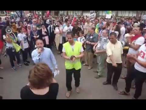Bruxelles: Manifestation de solidarité avec les soulèvement populaires au Maroc