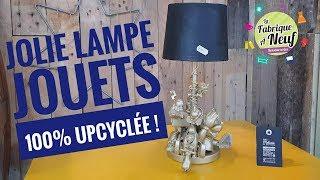 La Fabrique à Neuf : une jolie lampe jouet 100% upcyclée !