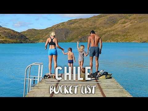 JUMPING INTO GLACIER COLD WATER IN PATAGONIA, CHILE!!
