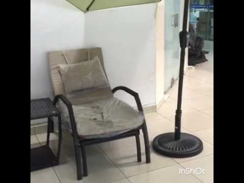 Dragon mart,Garden furniture,dubai. best quality aluminium frame.warranty available.