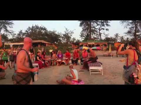 Arambol Beach Goa | Jamming | Playing with Drums