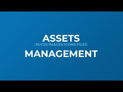 Proper Assets Management For Website - Manage Files And Folders In HTML Project Properly