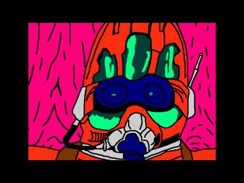 Armored Trooper VOTOMS Opening Drawn In MS Paint
