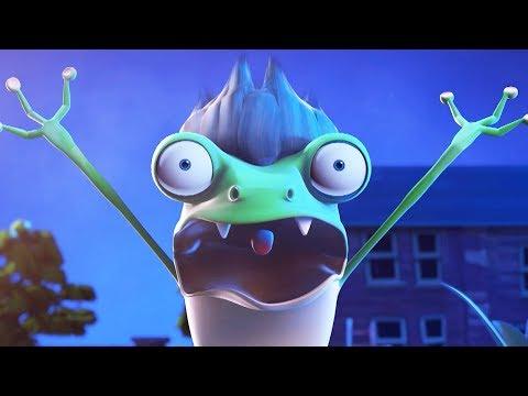 Funny Animated Cartoon | Spookiz Cula's Transformation Into a Frog 스푸키즈 | Cartoon for Children