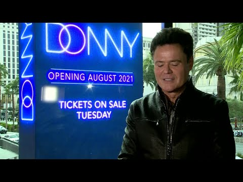 INTERVIEW: Donny Osmond on new residency at Harrah's Las Vegas