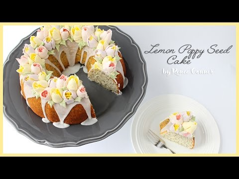 Lemon Poppy Seed Cake | Renee Conner