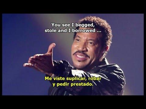 LIONEL RICHIE - EASY subtitulado Español - Inglés