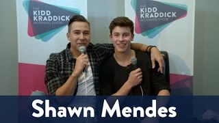 Backstage with Shawn Mendes!