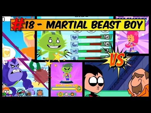 Teeny Titans - A Teen Titans Go!-Pawn 5 of any BEAST BOY fig in the tower|MARTIAN BEAST BOY-PART 18
