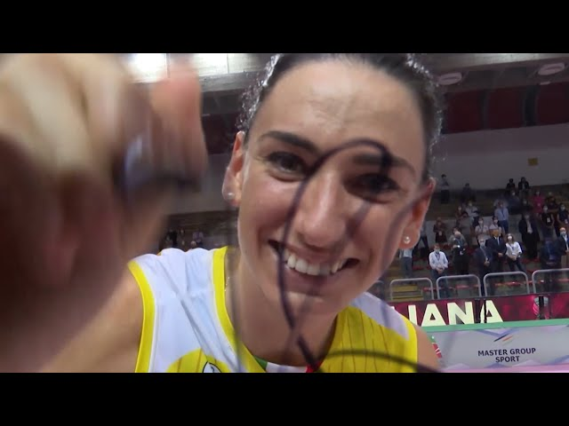 Supercup Final - All the points of the MVP Raphaela Folie