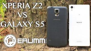 Sony Xperia Z2 VS Samsung Galaxy S5 большое сравнение. Кто лучше Xperia Z2 или Galaxy S5 FERUMM.COM