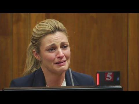 Erin Andrews Emotional During Testimony In Court