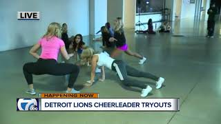 Lions Cheerleaders auditions