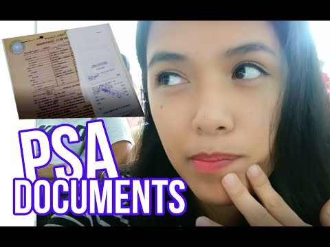 Getting My Philippine Statistic Authority (PSA) Documents | Lipa Branch